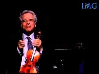 IMG Speakers Presents: Itzhak Perlman, World Renowned Violinist & Conductor