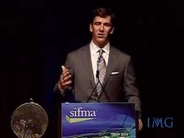 IMG Speakers Presents: Eli Manning, Two Time Super Bowl MVP, New York Giants