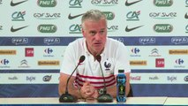 """Mondial-2014: les Bleus restent """"lucides"""" dit Deschamps"""
