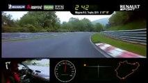 La Renault Mégane R.S. 275 Trophy-R signe le record du Nürburgring en 7min54