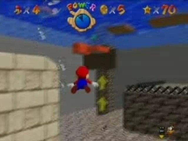 Super Mario 64 cannon glitch