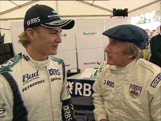 Nico Rosberg on Trans World Sport