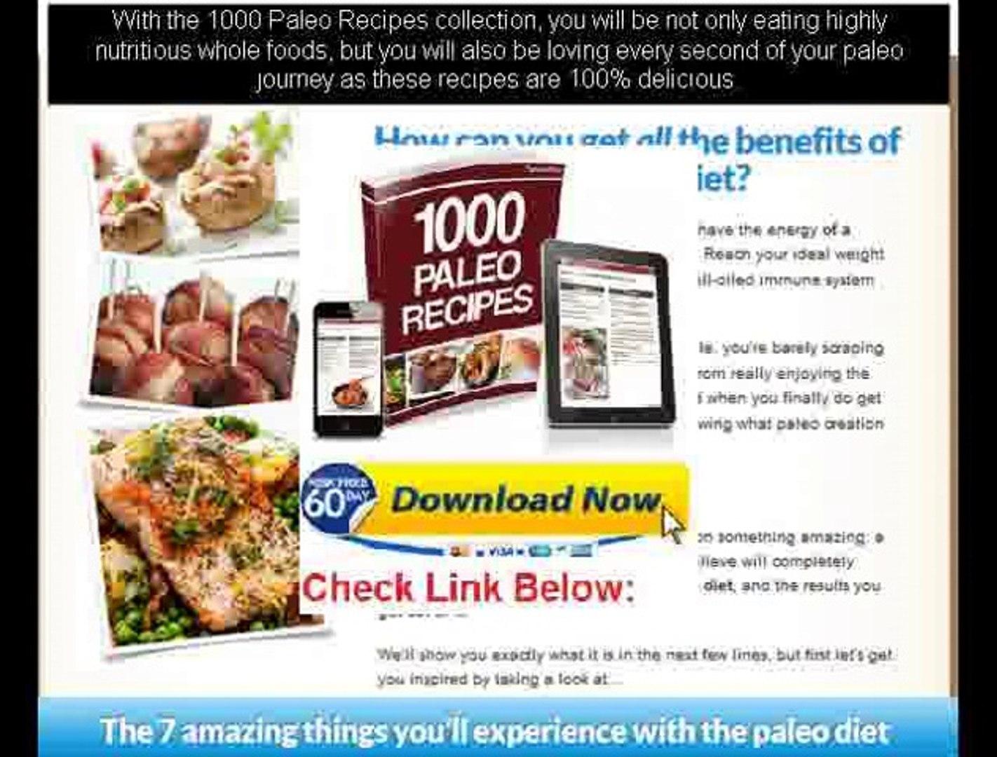 caveman diet meal plans