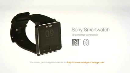 Installation de la montre connectée Sony Smartwatch 2. Les objets connectés avec Orange
