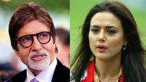 Amitabh Bachchan Denies To Support Preity Zinta