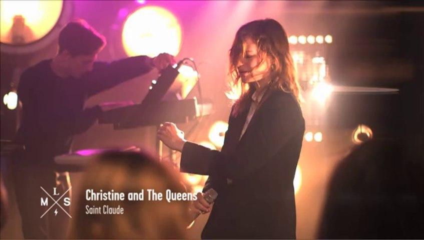 """Christine And The Queens - """"Saint Claude"""" en live pour Monte Le Son"""