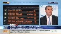 L'Édito éco de Nicolas Doze: Réforme ferroviaire: La grève à la SNCF symbolise la panne des relations sociales – 17/06