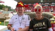 Mondial: à Berlin, les canapés des supporteurs en plein stade