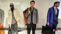 Fashion Show HARDY AIMES Autumn Winter 2014 2015 London Menswear by Fashion Channel