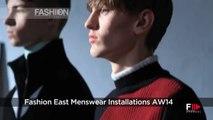 Fashion Show FASHION EAST Autumn Winter 2014 2015 London Menswear by Fashion Channel