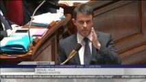 """Manuel Valls veut tenir face aux cheminots : """"Cette réforme est indispensable"""""""