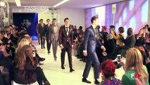 "NEW ""LONDON FASHION WEEK Menswear Autumn Winter 2014 2015"" Day 2 Highlights by Fashion Channel"