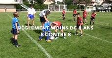 Ecole de Rugby : Moins 8 ans