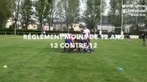 Ecole de Rugby : Moins 12 ans