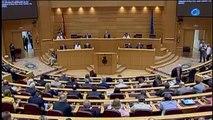 El Senado aprueba la ley de abdicación con el 87% de los votos