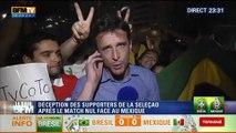 Le Soir BFM: Coupe du Monde: les supporters brésiliens gardent la foi malgré le match nul de la Seleção face au Mexique - 17/06 1/2