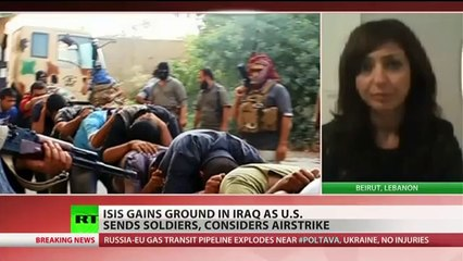 ISIS insurgents battle military on outskirts of Baghdad