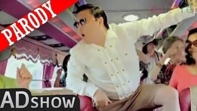 Gangnam Style PARODY! PSY without music? So weird!