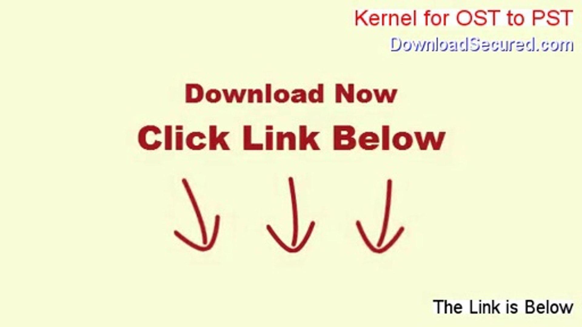kernel ost to pst full version download crack
