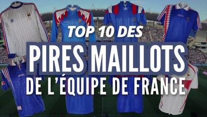 Top des pires maillots de l'équipe de France