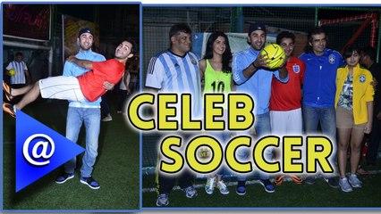 Celeb Soccer: Ranbir Kapoor  vs Armaan Jain - AtBollywood