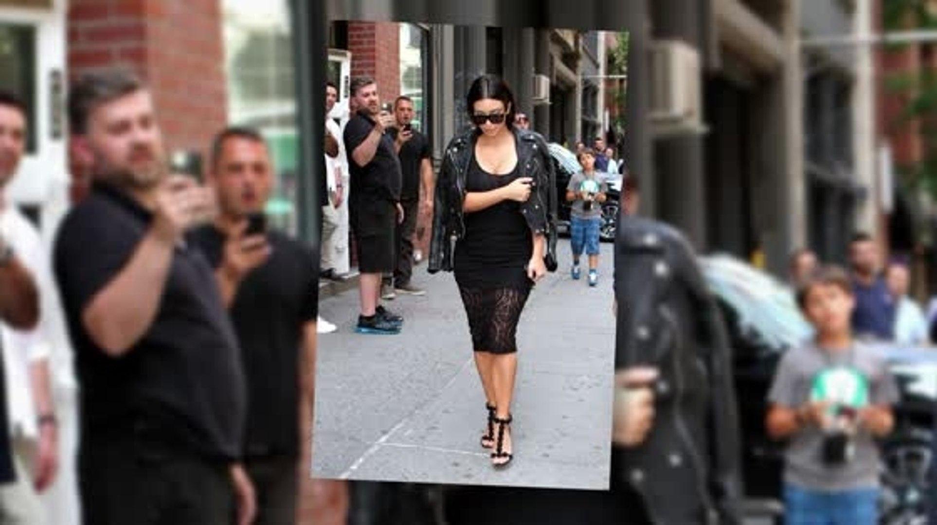 Kim Kardashian Continues to Showcase her Sexy Wardrobe