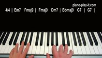 Baby It's Cold Outside Piano Tutorial From Glee (Ray Charles)