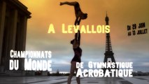 Championnat du Monde Gym Acro 2014 à Levallois