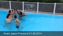 Séance décrassage : Equipe de France de volley-ball masculine