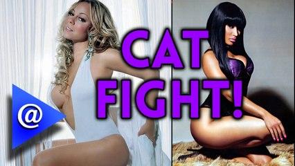 Nicki Minaj and Mariah Carey Cat fight