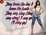 Rose Colored Glasses by Kelly Rowland (lyrics)