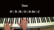 Jar of Hearts Part 2 Piano Tutorial by Christina Perri