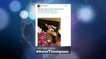 2014 NBA Social Media Awards 'Aww' Award Nominee - Klay Thompson