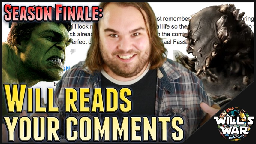 Season Finale: Will Reads Your Comments - Will's War HD