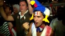Suisse-France : l'explosion de joie des supporteurs français