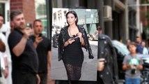 Kim Kardashian continue sur sa lancée de tenues osées
