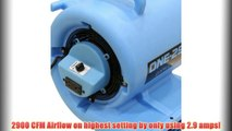 """Best buy ONE-29 Air mover Carpet dryer 3-Speed 2.9 AMPS with GFCI 4-unit Daisy Chain Capability!,"""""""