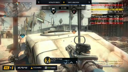 EGL SS : Vitality vs Safe.Unleash : Round 3 - Map 3