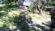 СЛАВЯНСК. Ополченцы раздолбили укроповское гнездо на Карачуне - Луганск,Донецк,Снежное,Краматорск