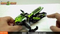 LEGO Technic Snowmobile Review   LEGO 42021