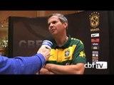 Carlinhos Neves, o preparador físico da Seleção Brasileira