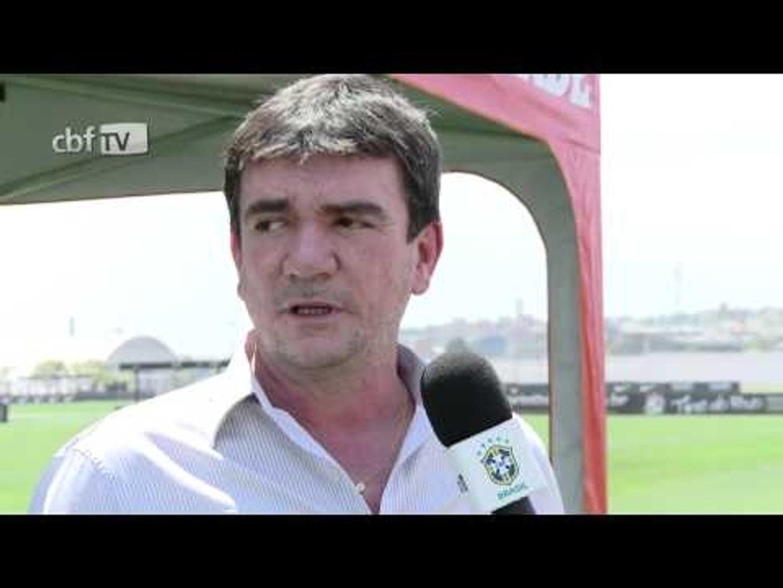 Andrés Sanchez fala da programação da Seleção Brasileira