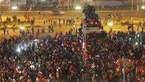 Mondial 2014 : les rues de Santiago noires de monde après la victoire du Chili