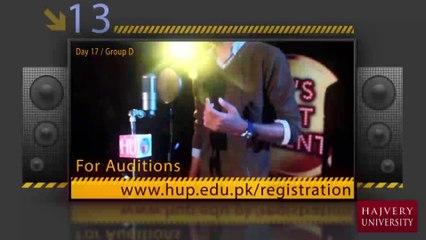 Abeer Hussain  - HU Got Talent