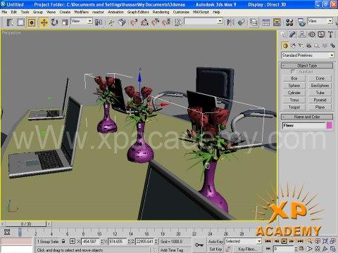 3D Max Urdu Tutorials   Meeting Room wWw.xpacademy.net