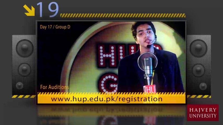 Umair Ali - HU Got Talent