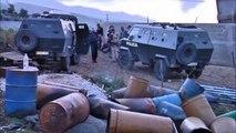 Albanian police burn more than 10 tonnes of marijuana