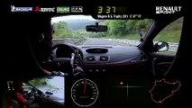 2014 Renault Mégane R.S. 275 Trophy-R  Lap time record Nürbürgring