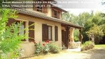 A vendre - maison - CORCELLES EN BEAUJOLAIS (69220) - 6 pièces - 127m²