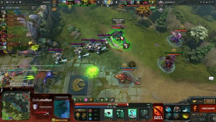 The Alliance vs Fnatic Game 2 - D2CL Semi Final with @TobiWanDOTA & @7ckingMadDOTA